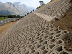 Terrafix Slope Rehabilitation / Erosion Control