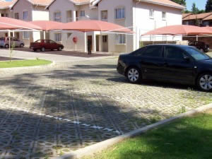 Eco-Friendly Parking Surface with Terracrete