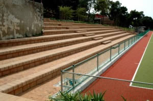 Seating arena at Cape Town high school