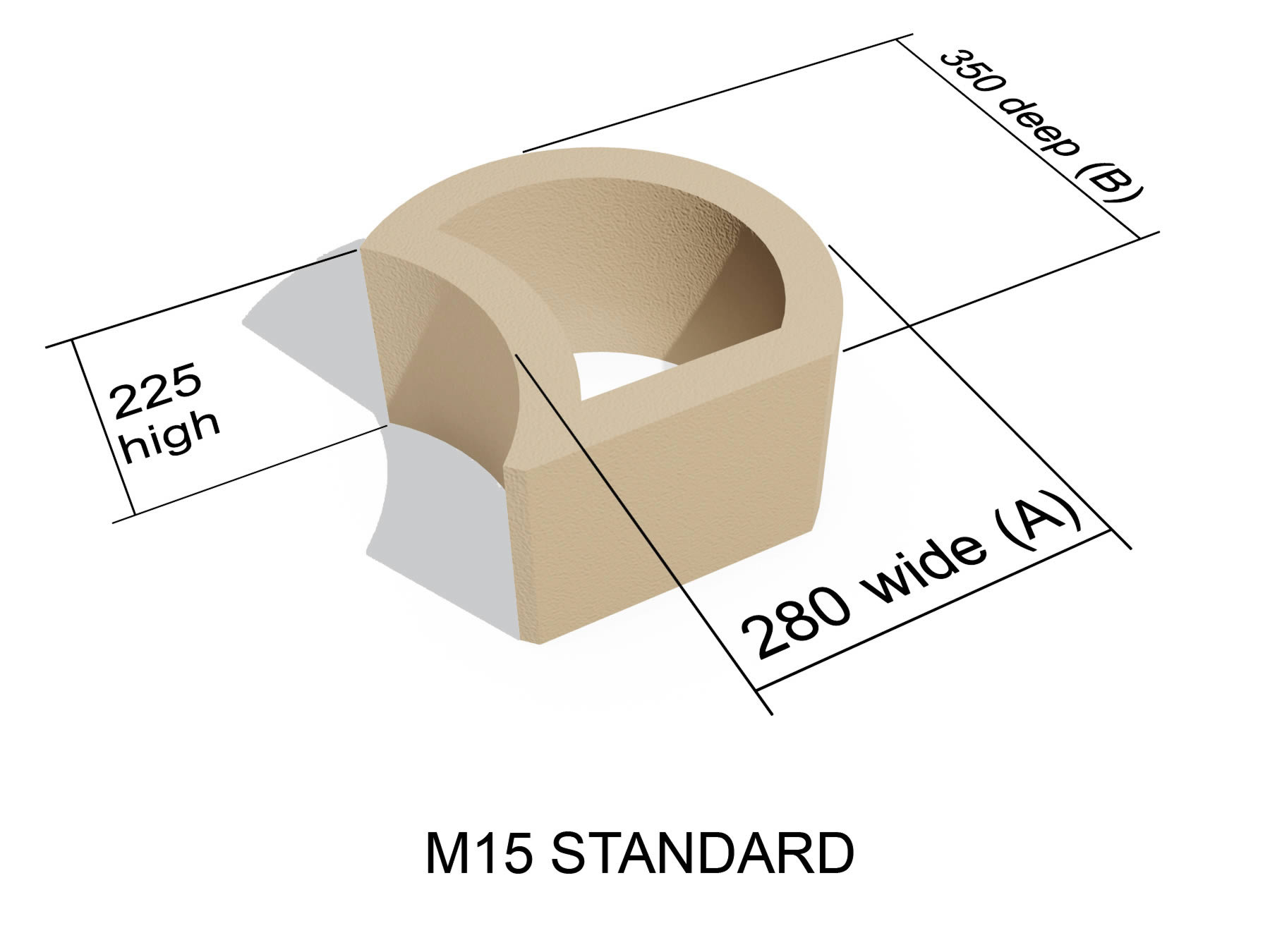 M15 Standard block