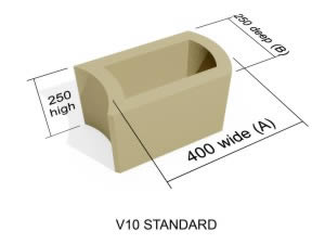 V10  Standard block