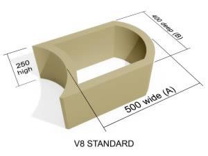 V8 Standard block