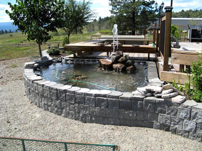 Water feature, Terralite block