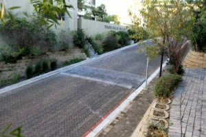 Slope erosion control and space for plants