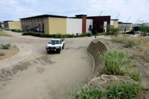University of Namibia, erosion control