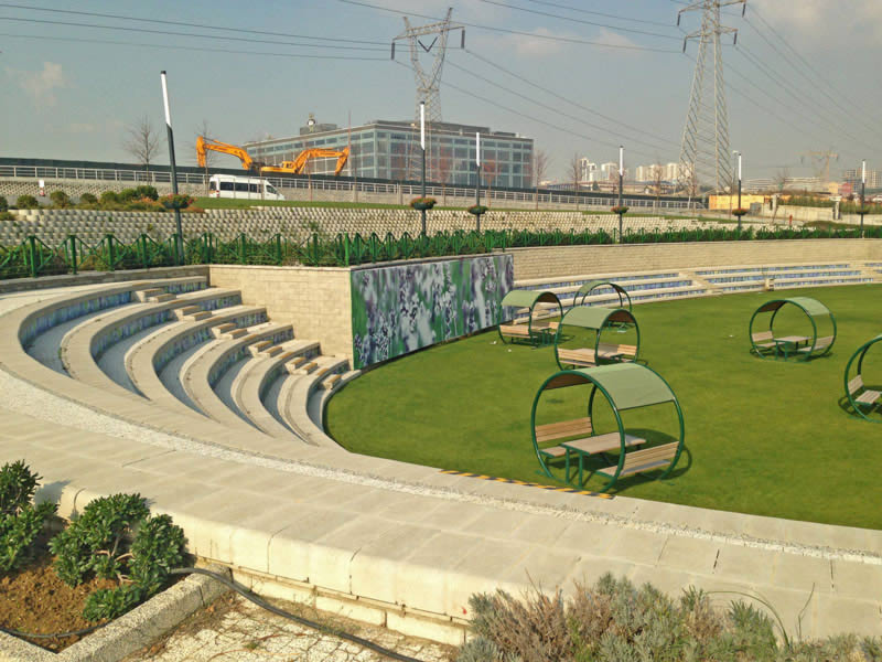 Seating arena with 4x4 Multi Step block, Istanbul