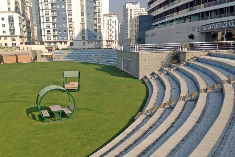 Large seating arena