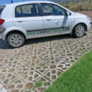 Customer parking with Terracrete permeable pavers