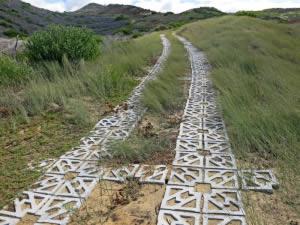Terracrete eco-surface pavers