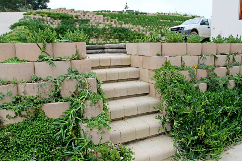 Multi 4x4 Step blocks for stairways