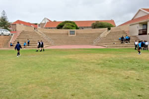 Seating arena for 600 pupils at the Milkwood Primary School