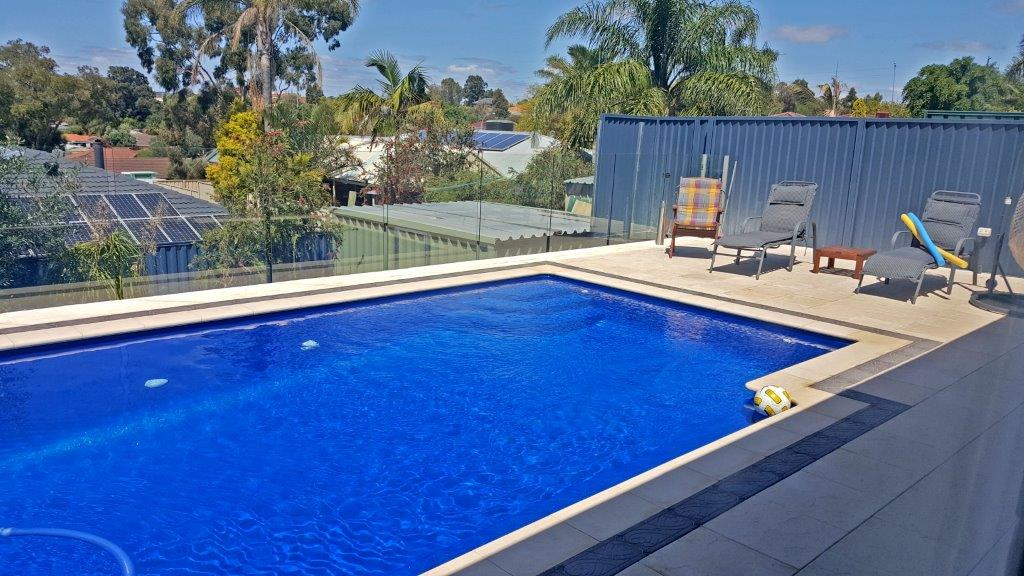 Pool with views in Perth