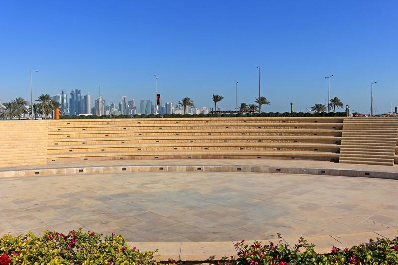 Seating arena, Souq Wafiq, Doha, Qatar