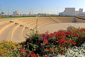 The amphitheatre at the Souq Waqif, Doha, Qatar