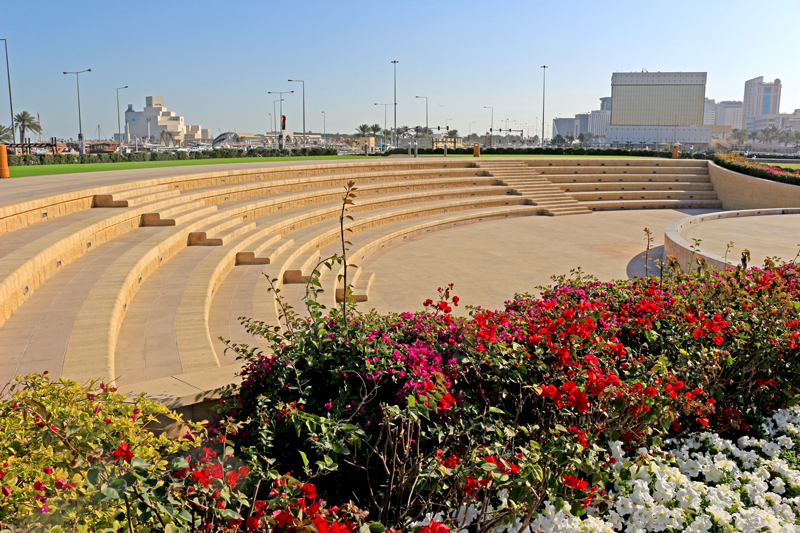 The amphitheater at the Souq Waqif, Doha, Qatar