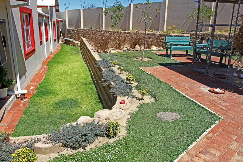 Creating space for gardens and lawn