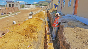 Terraforce L12 retaining walls between one and two meters in height