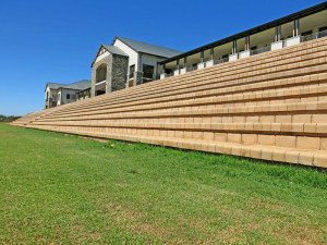 Seating at the new Reddam House, Clara Anna Fontein lifestyle estate, Durbanville