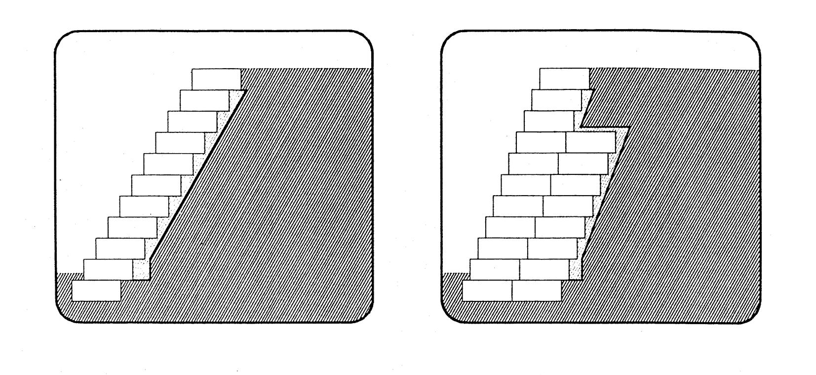 Light or heavy retaining walls
