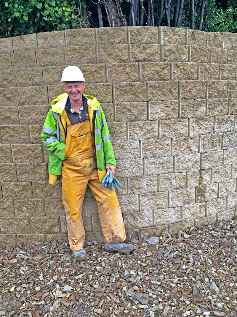 Jon Bond, contracts manager for the developer, Williams Homes (Bala) Ltd, says they intend using the blocks for future projects