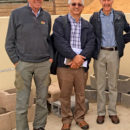 M. Ahmed Ali Amar visiting (middle) Klapmuts Concrete, Cape Town, South Africa