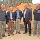 Members of the Algerian delegation visiting Klapmuts Concrete, Cape Town, South Africa