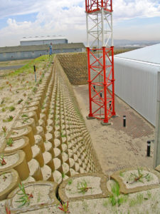 Terraforce noise barrier at the CT Airport Training Centre