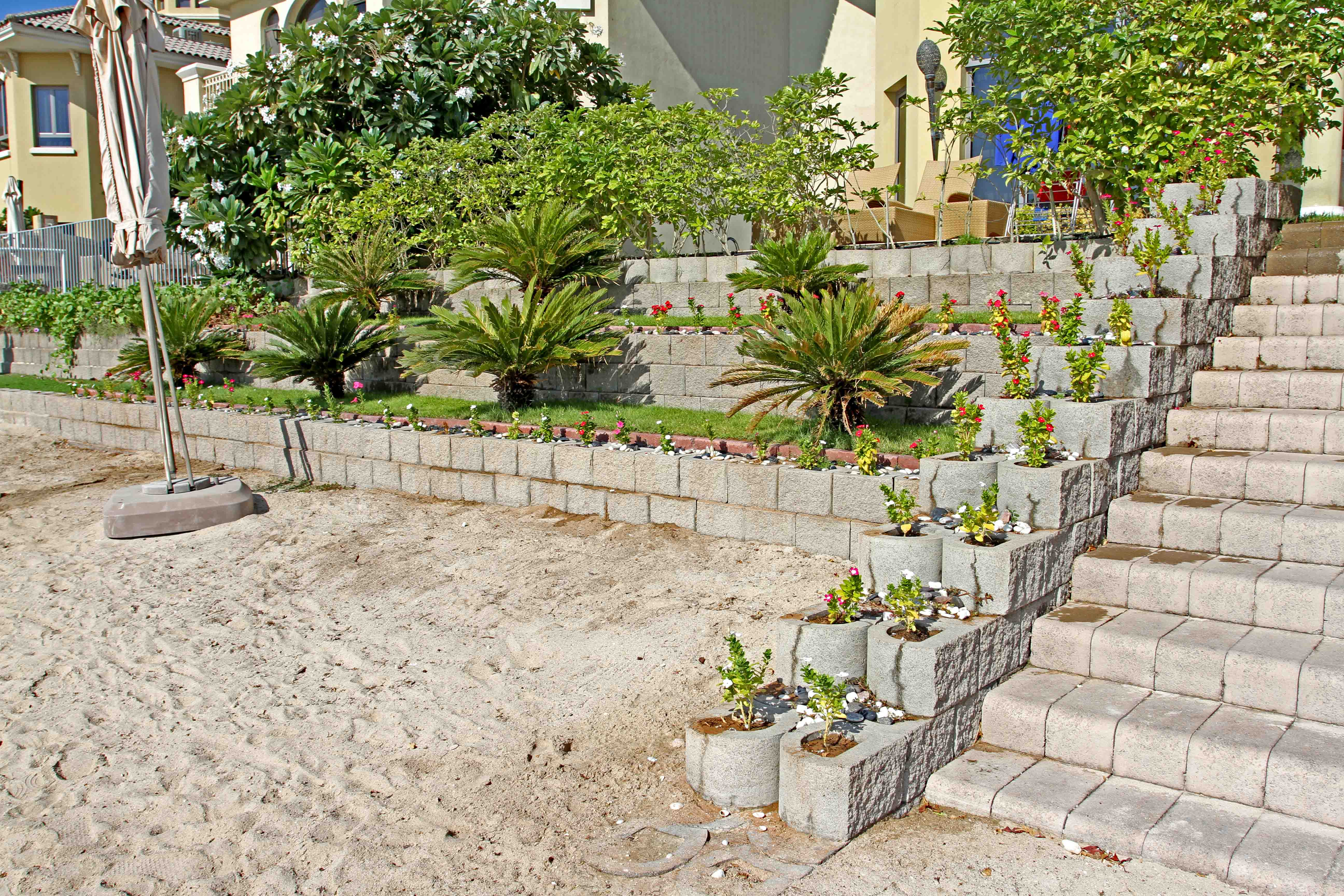 Beachfront protection, Palm Jumeirah, Dubai