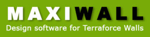 Maxiwall Design Software for Terraforce Walls