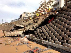 Umdloti beach failure