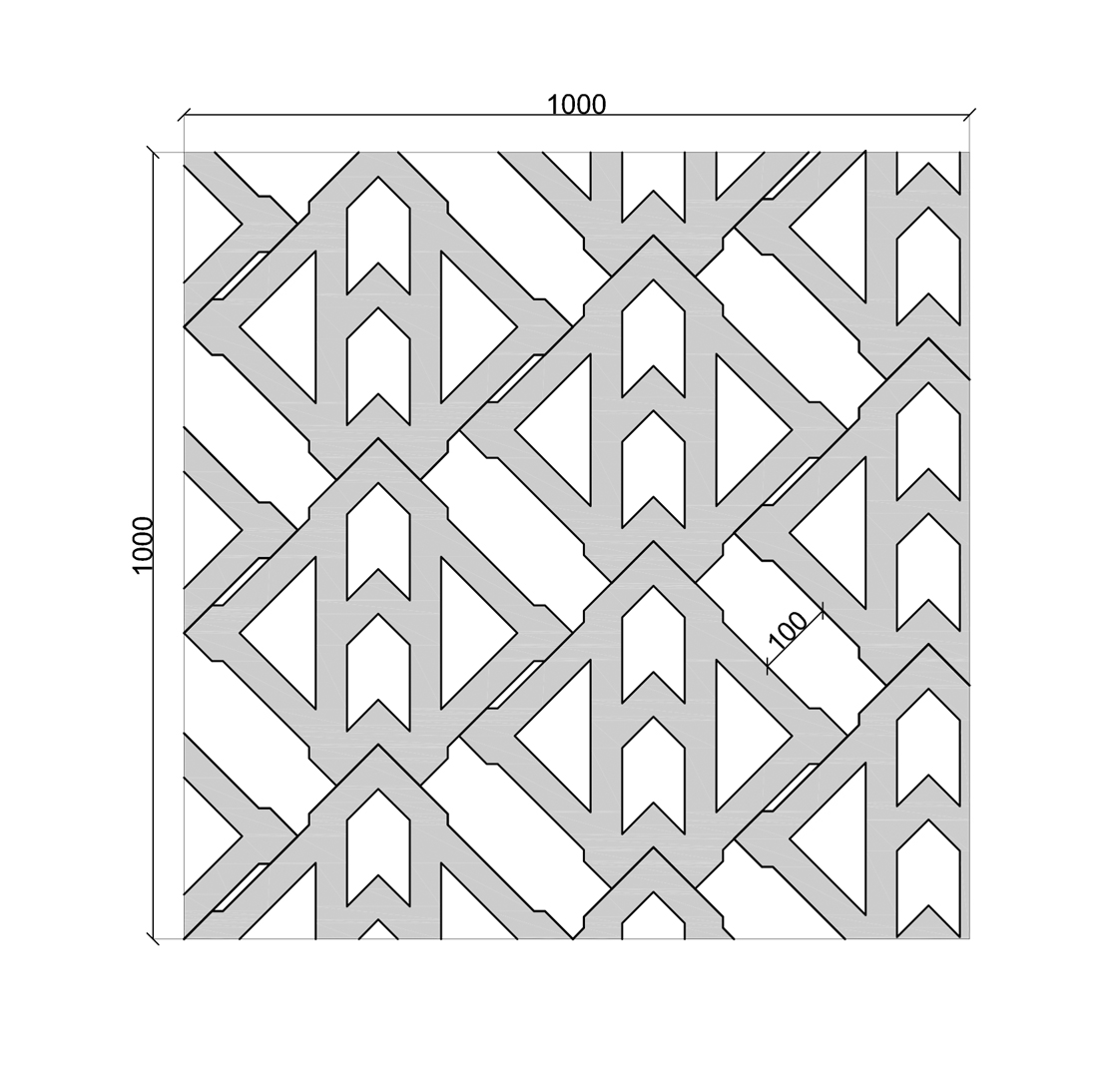 Terracrete Wet Cast Unidirectional Formation, Extended