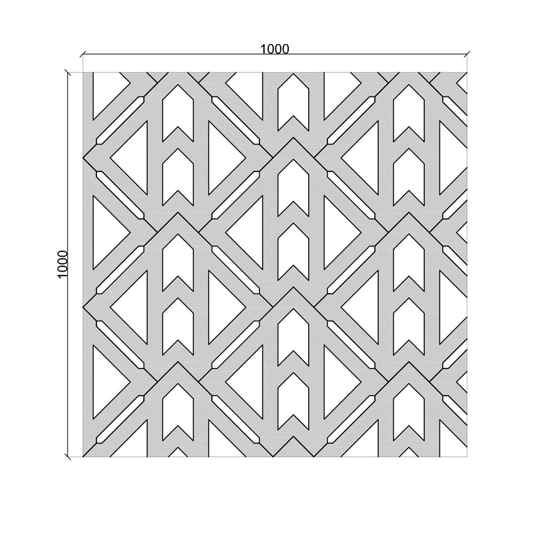 Terracrete wet cast Unidirectional Formation