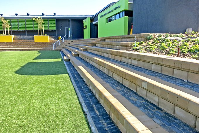 The blocks provide efficient and economical steps