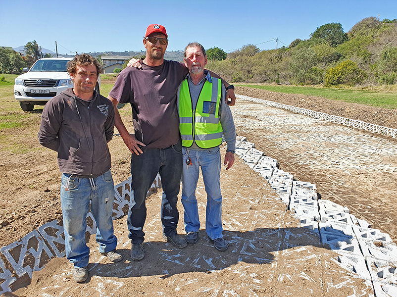 Benver Civils on site at Mossel Bay