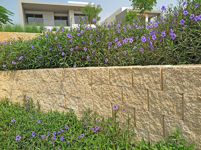 Terraforce L16 retaining wall block low landscaping walls