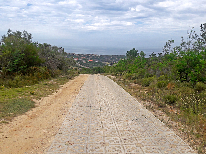 Terracrete pavers provide permeable erosion control at this suburban in Mossel Bay