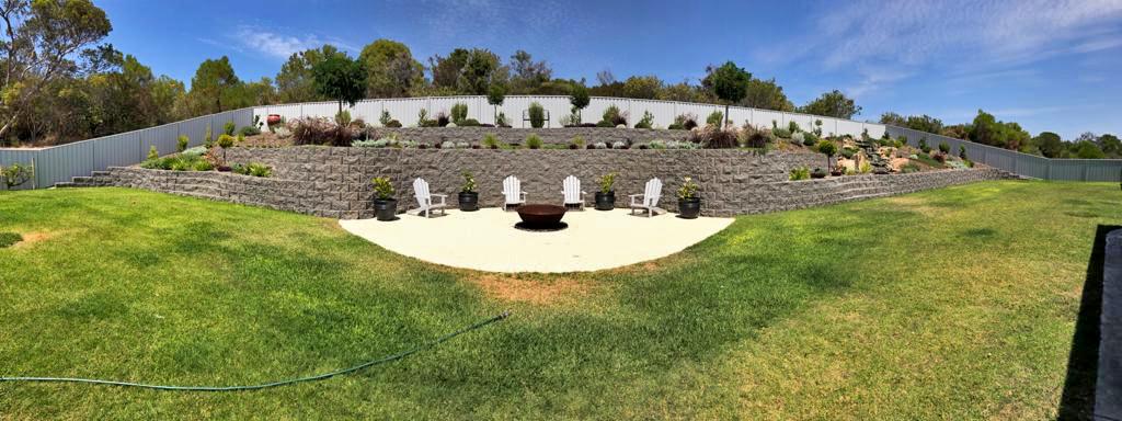 Striking garden walls in Western Australia with Terraforce