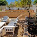 Terraforce walls transform a garden