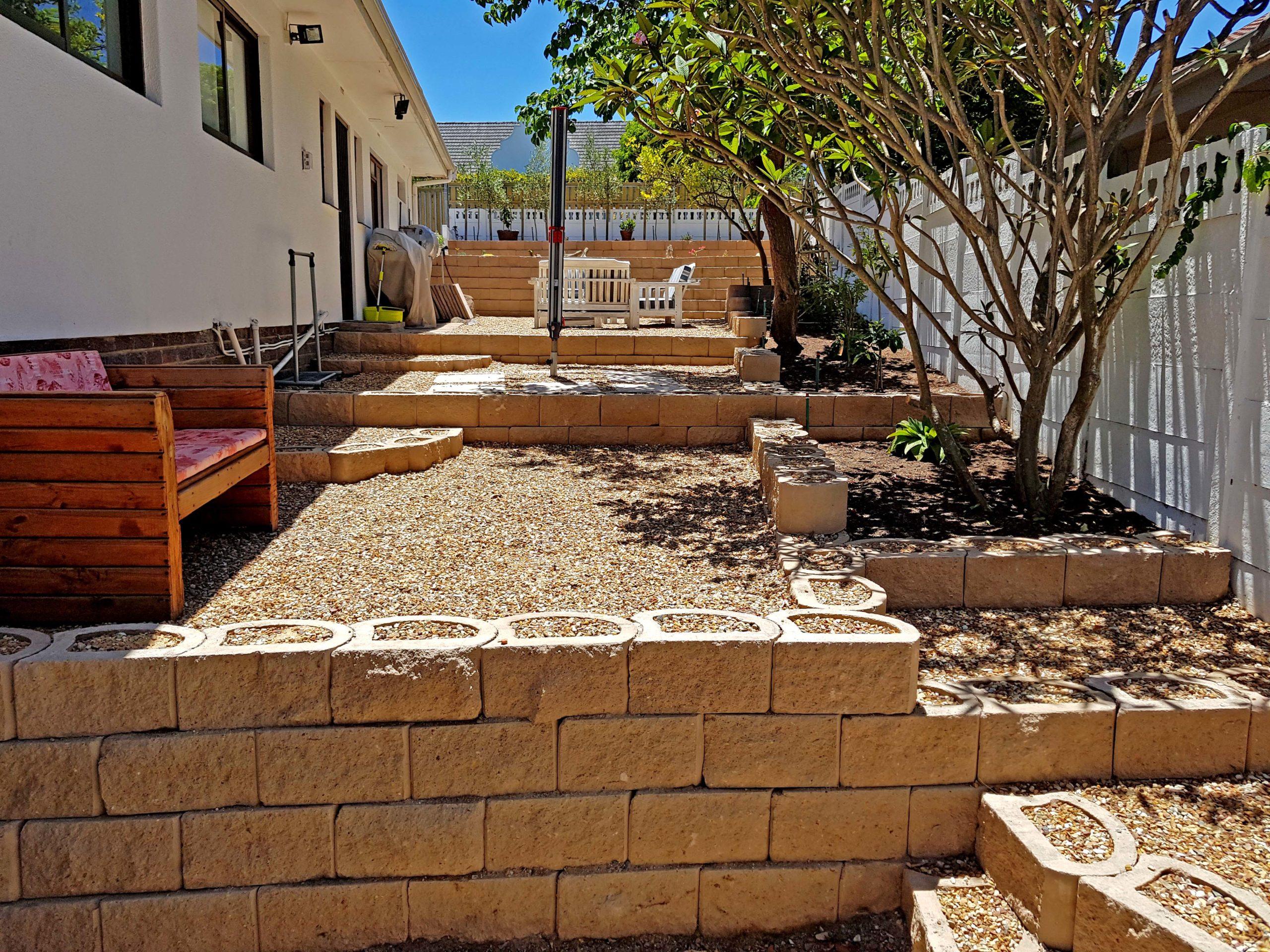 Many terraces for many purposes